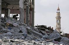 Gaza After the Bombardment - In Focus - The Atlantic