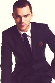 It's a pretty face that holds its own when matched with a fetching tie and pocket square.   A Tribute To Every Beautiful Part Of NicholasHoult