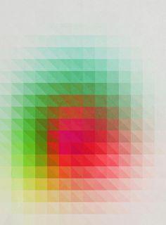 Geometric art  by Three of the Possessed.