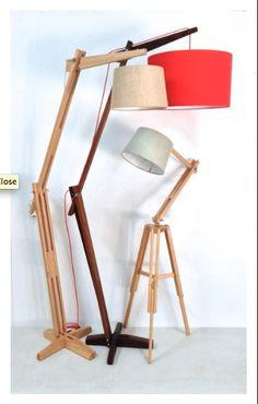 Floor lamp design Wooden floor lamps Lamp design Lamp Modern floor lamp design Wood floor lamp Classic retro timber floor lamp The reach by Lou Retro Floor Lamps, Diy Floor Lamp, Wooden Floor Lamps, Wooden Lamp, Wood Floor, Diy Luminaire, Lampe Decoration, Timber Flooring, Unique Lamps