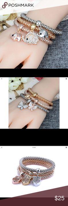 Fashion 3 color Elephant bracelets Cute fun light bracelets Jewelry Bracelets
