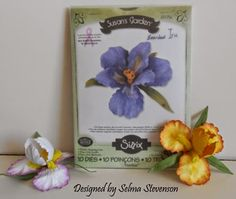Selma's Stamping Corner and Floral Designs: Susan's Garden Bearded Iris Tutorial