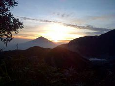 Papandayan Mountain, Garut, West Java, Indonesia - Sunrise