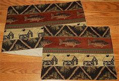 Thank you. You will receive a $1 off coupon during checkout. Fisher's Cabin Placemats &Table Runners