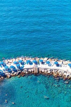Sunbathing in Vernazza, Cinque Terre Coast