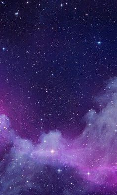 Wallpaper anime galaxy ideas for 2019 Purple Galaxy Wallpaper, Night Sky Wallpaper, Pastel Wallpaper, Cute Wallpaper Backgrounds, Pretty Wallpapers, Nature Wallpaper, Fashion Wallpaper, Iphone Wallpapers, Aesthetic Galaxy