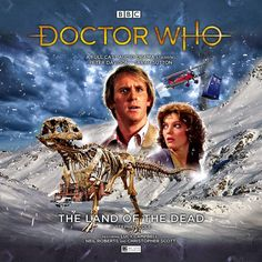 The Land of the Dead Full Cast, It Cast, Peter Davison, Big Finish, Audio Drama, Bbc Doctor Who, Cd Cover, Nerd Geek, Dr Who