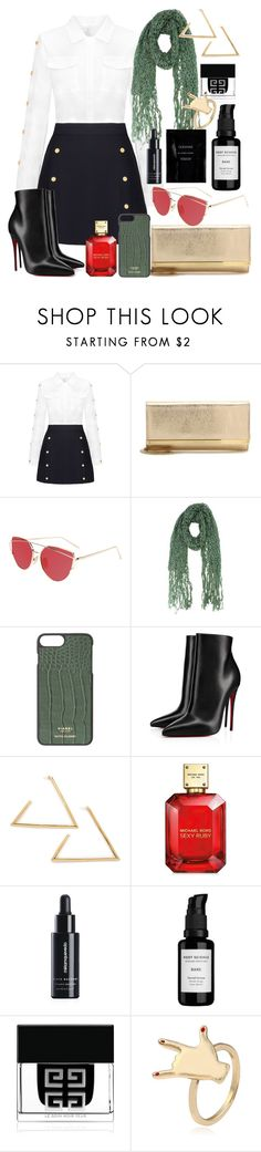 """""""you my zing"""" by frelofe on Polyvore featuring Jimmy Choo, Christian Louboutin, Michael Kors, Miriam Quevedo, Root Science, Givenchy and Cleanse by Lauren Napier"""
