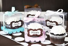 Clear Cupcake Boxes Cupcake Box Insert Clear Cupcake by ModParty, $14.00
