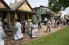 If you're out by 11:30 for Monday's Memorial Day event, please participate in the flag-led procession to Railroad Town. It's a tradition at the museum. More info is up at www.stuhrmuseum.org.
