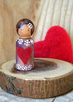 lovely peg doll