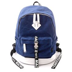 Fashion Dot Canvas Computer Bag Travel Bag School Bag Backpack only $46.99