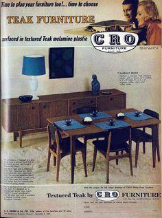CRO furniture, 1965