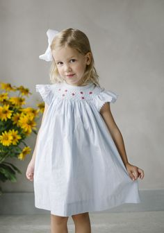34f6898f2160 Bishop dress, smocked dresses, classic children's clothing, little english,  preppy children's clothing