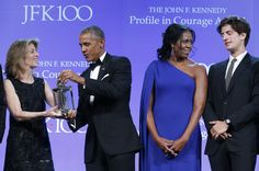 The Kennedys and the Obamas the Profile in Courage Award