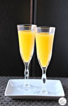 easy mimosa recipe - confessions of a cooking diva