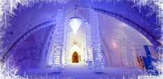 Embracing the winter season and adding this gorgeous ice castle hotel in Quebec to my wish list.