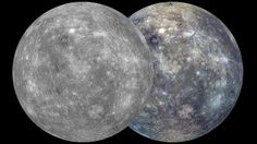 NASA Unveils First Complete Map of Planet Mercury