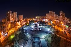 chisinau-by-night-kiri-photography-16 Travel Around The World, Around The Worlds, Moldova, Night Time, Places To See, City, Photography, Photograph, Fotografie