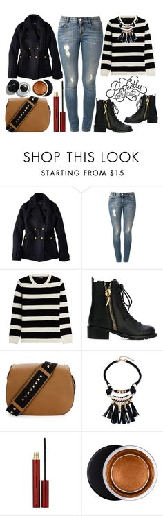 """""""Perfectly Imperfect Casual Winter Style"""" by latoyacl ❤ liked on Polyvore featuring American Eagle Outfitters, STELLA McCARTNEY, The Kooples, Giuseppe Zanotti, Valentino, Kevyn Aucoin, Estée Lauder and Bobbi Brown Cosmetics"""