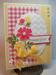 CC439.....Thinking of You by justcrazy - Cards and Paper Crafts at Splitcoaststampers
