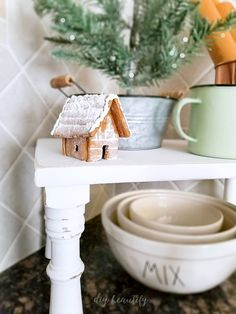 Update a ceiling fan with a new light kit that matches your decor! Sharing this and other recent updates including Christmas kitchen ideas! Find out more at diy beautify!