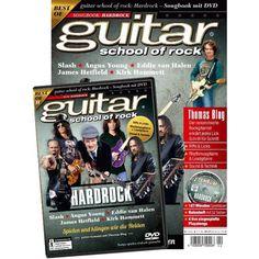 guitar school of rock Hardrock - Songbook mit DVD, 9,90 €