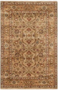 FS210A Rug from Farahan Sarouk collection.  The Farahan Sarouk collection by Safavieh is styled for consumers who love timeless elegance. These rugs combine the free spirit of Sarouk tribal motifs wi
