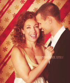 --A courtesy email would be nice if some other guy is gonna have a go at my wife. —Matt Smith (on Steven Moffat talking about if 'Kingston and Peter Capaldi were in the TARDIS together.) Alex Kingston + Matt Smith, Doctor Who