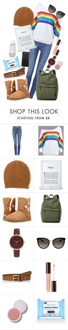 """""""Winter Park Day"""" by princesswaterlily ❤ liked on Polyvore featuring Levi's, Isabel Marant, UGG, Herschel Supply Co., Nine West and Gucci"""