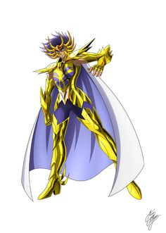 DeathMask Cancer Saint Seiya by Marco Albiero