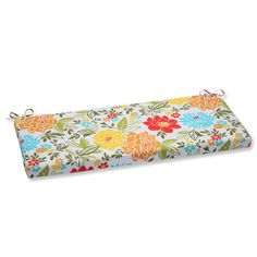 Pillow Perfect Spring Bling Outdoor Bench Cushion