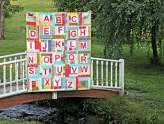 Maureen Cracknell Handmade: An ABC Quilt : (many very nice pictures, but no tutorial that I could find)