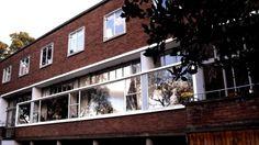 Front facade at 2 Willow Road, Hampstead © NTPL/David Watson