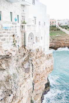A Dreamers coastal town, Polignano a Mare   xo amys