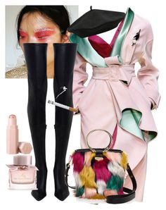 """"""""""" by svndrv ❤ liked on Polyvore featuring Versace, Zimmermann, Milly, M&Co, Burberry and Puma"""