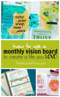 Making a Vision Table 7 Beneficial Tips