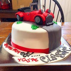 Classic car cake!                                                                                                                                                                                 More