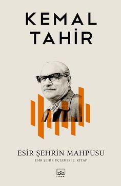 Esir Şehrin Mahpusu, Kemal Tahir, books cover desgin