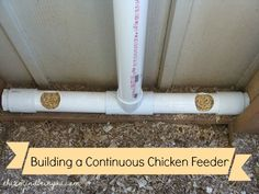 Building a Continuous Chicken Feeder