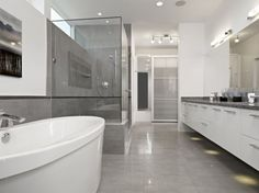 1000+ images about Grey Bathroom on Pinterest  Design homes, Grey ...