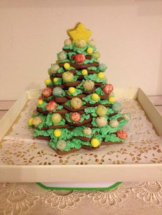 tree Christmas  Cookies (nenna's cake)