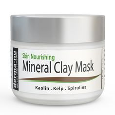 Healing Clay Mud Mask for Deep Pore Cleansing - Best Face Mask for Acne, Oily Skin & Blackheads - Reduces Wrinkles & Minimizes Pores - Organic and Natural Skin Cleanser & Therapeutic Spa Mask - >>> Awesome product. Click the image : Skincare For Oily Skin Natural Exfoliant, Natural Moisturizer, Skincare For Oily Skin, Healing Clay, Acne Mask, Pore Cleansing, Minimize Pores, Best Face Mask, Face Treatment