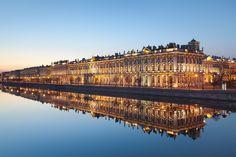 The Winter Palace, Saint Petersburg, Russia