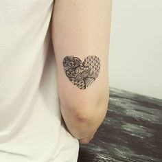 Resultado de imagem para tatuagem balão de coração