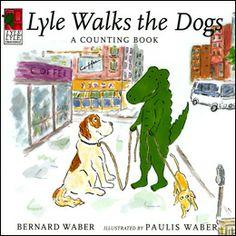 Daedalus Books Online - Lyle Walks the Dogs - Bernard Waber. Paulis Waber, illus.