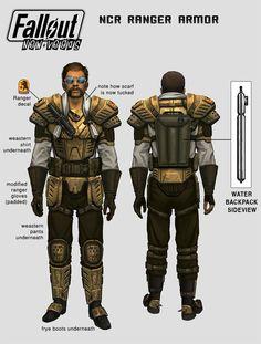 Fallout NV: NCR Ranger Armour.