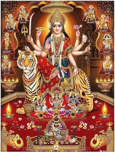 We curated the list of Goddess Vaishno Devi Image here for the devotees. Scroll down to see Goddess Vaishno Devi Images, pictures, HD images and more. Lord Durga, Durga Kali, Kali Hindu, Saraswati Goddess, Shiva Shakti, Goddess Lakshmi, Lord Shiva, Hindu Art, Lord Ganesha