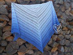 Krásný den, Crochet Scarves, Crochet Shawl, Free Crochet, Crochet Top, Crochet Afghans, Shawl Patterns, Easy Crochet Patterns, Light Scarves, Cotton Lights
