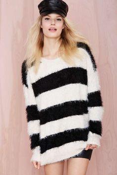 Cute: Veronica Striped Sweater | Shop Sale at Nasty Gal